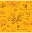 seamless pattern autumn 7 vector image