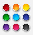 tins with gouache acrylic paint collection set in vector image vector image