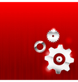 Abstract background 0011 Gear industrial vector image