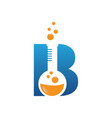 b letter vector image