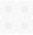 mandala swirl seamless background vector image