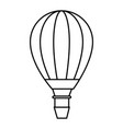 air balloon icon vector image vector image