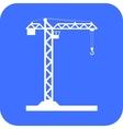 Building Tower crane icon - vector image vector image