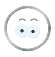 Eyes cartoon icon for web and mobile vector image vector image