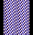 Lilac weave texture geometric seamless background vector image vector image