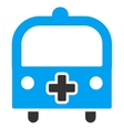 Medical Bus Icon vector image