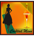 Retro Cocktails vector image