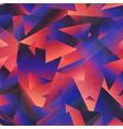 retro purple color triangle pattern vector image vector image