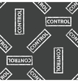 Rubber stamp CONTROL pattern vector image