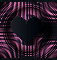 valentin0es day abstract background vector image vector image