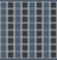 seamless tartan pattern blue and grey kilt fabric vector image