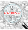 advertising vector image
