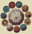 Baroque design elements vector | Price: 1 Credit (USD $1)