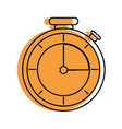 isolated chronometer design vector image