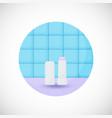 lip balm flat icon vector image vector image