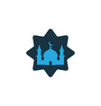masjid colorful icon symbol premium quality vector image vector image