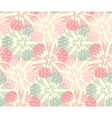 Stylish floral seamless pattern vector image