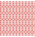 abstract pattern heart vector image vector image