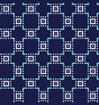 abstract seamless geometric ornament pattern vector image