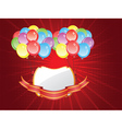 Balloons with Banners5 vector image vector image