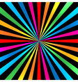 Colorful Bright Rainbow Spiral Background vector image vector image