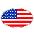 usa flag icon symbol sign vector image vector image