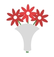 wedding bouquet isolated icon design vector image