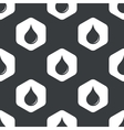 Black hexagon water drop pattern vector image vector image
