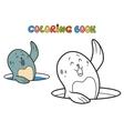 cute seal vector image vector image