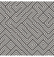 Seamless Irregular Maze Geometric Pattern vector image