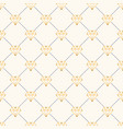 seamless luxury geometric pattern vector image