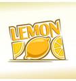 abstract lemon vector image