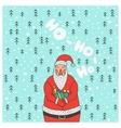 Cartoon character Santa Claus vector image
