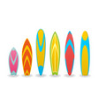a surfboards vector image vector image