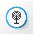 broadcast icon symbol premium quality isolated vector image vector image