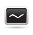 Business graph icon vector image vector image