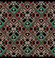 colorful geometric greek seamless pattern modern vector image vector image