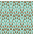 Geometric wave seamless pattern background vector image