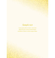 Golden page corner design template vector image vector image