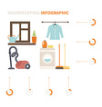 Housekeeping Infographic vector image