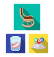 human old age flat icons in set collection for vector image