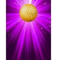 party lights background vector image vector image