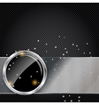 metal glass abstract background vector image