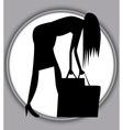 A Hard Days Shopping vector image vector image