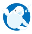 Beluga vector image