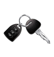 car keys isolated vector image