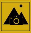 flat design travel icon vector image
