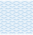 Geometric wave seamless pattern background vector image vector image