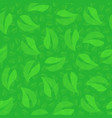 green foliage tree looped seamless background vector image