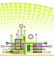 Hi-tech Technology Background vector image